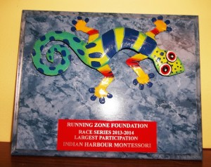 IHM's Running Club participates in the Running Zone's Race Series