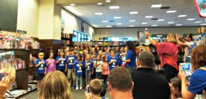 Barnes & Noble Bookfair a Smashing Success!