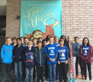 "Our 5th and 6th graders enjoyed a wonderful Field Trip to the Orlando Repertory Theatre to see ""Flora & Ulysses. What a great trip!"