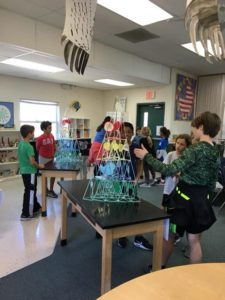 1st & 2nd graders visit world biomes and explore Room 22's Aviary. They have fun matching the mass of measured water samples to actual size Models of Birds. 🦅🦉🌎🌍🌏
