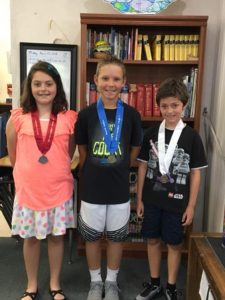 4-H Tropicana Public Speaking Program 2018 – IHM Speech Contest school winners are as follows:  4th/5th Grade Category- Aiden 1st, Mia 2nd & Nathan 3rd!  6th Grade Category – Eli 1st, Bailey 2nd & Massimo 3rd!  Congratulations to all of our students, well
