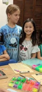 IHM Elementary Summer Campers are being creative and having fun!?