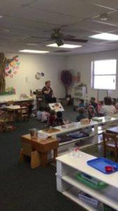Toddler Montessori had a guest storyteller!❤️