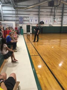 Thank you so much to Officer Swenson from the Indian Harbour Beach Police Department and his K-9 partner Kato.  Thanks also to his training partner from the Cocoa Police Department. The students had a great presentation, demonstration and had many questio