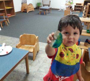 IHM Toddlers enjoying the start of summer camp!☀️?