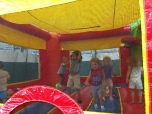 It was a great day in the Bounce House, having lots of fun!