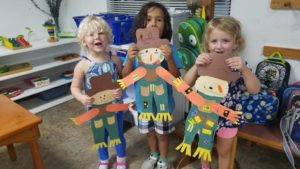 3-6 Aftercare children create fall scarecrows!🍁🌻