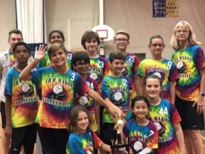 Congratulations to our IHM Mako Volleyball Team- 1st Place! ?