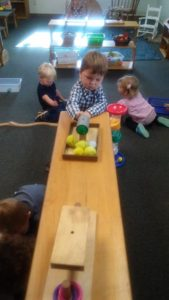 Room 6 Toddler Montessori – Independently choosing work in the classroom. Sharing with friends.😊💛