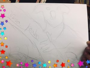 Art – A left hand drawn Koala!🐨