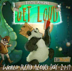IHM will participate in- World Read Aloud Day! 2-1-2019 ????