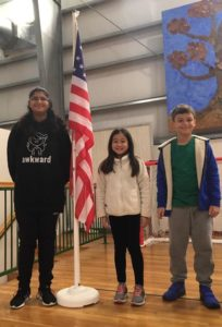 IHM National Geographic Geo Bee Winners!🌎🌍🌏 left to right – 1st place, 2nd place, 3rd place. Congratulations!