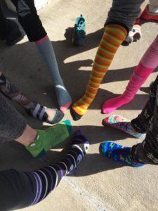 IHM Elementary Spirit Week! Crazy Hat & Sock Day!?