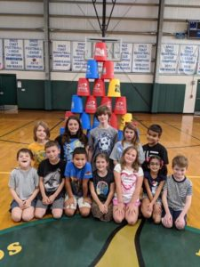 Stackers Club with Mrs. Naugle. They had a blast!😊