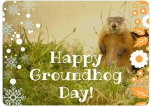 Punsxutawney Phil did not see his shadow, should have an early Spring!💐🌸🌼🌺😊