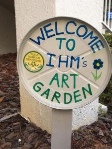 Underway, our IHM Art Garden Spring renewal by all classes. Watch for progress over the next week!??