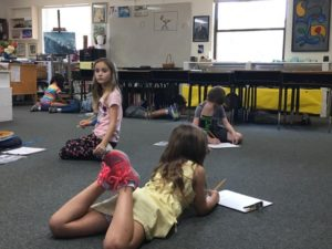 """Art Room 12- Finding their own """"Artist Space"""".🎨"""