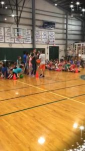 Elementary Field Day!!! Over- under team relay!😊 What a blast!🤩