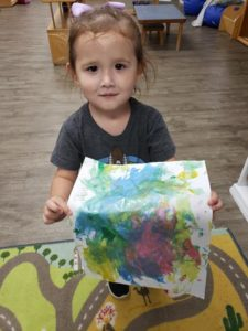 Toddler afternoon painting, fine motor skill practice and fun activities!??