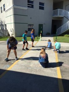 Room 22 measures to scale, Solar System distances.