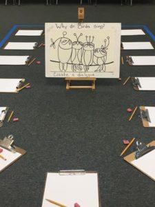 Upper Elementary Art Lesson – by Ms. Everett ??