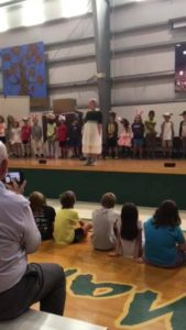 1st and 2nd Graders- Hansel & Gretel in their play?